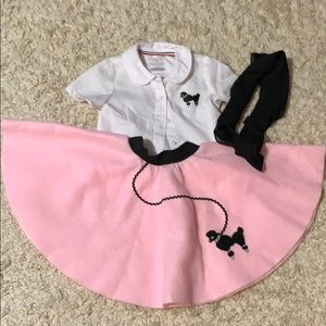🌈4/$25🌈 Toddler Fifties Costume